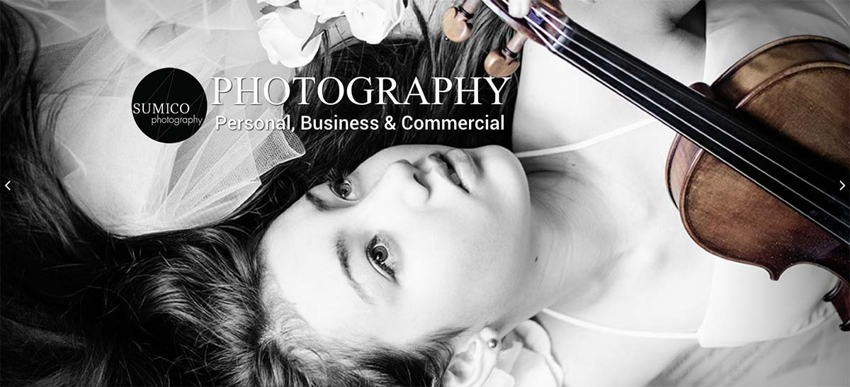 Sumico Photography Website by Sumico Net