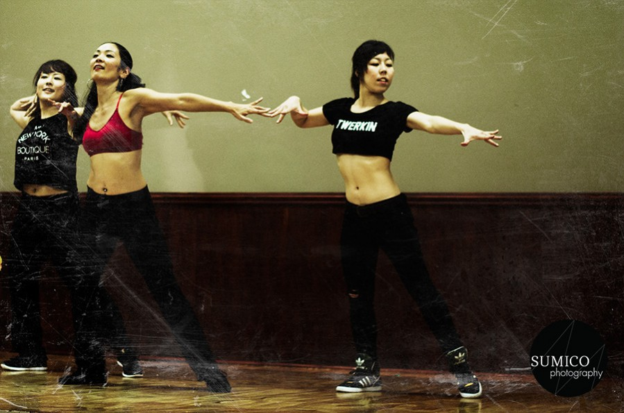 Dancers from Swan Fitness