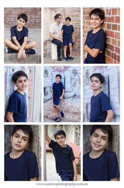 Kids portrait Brisbane