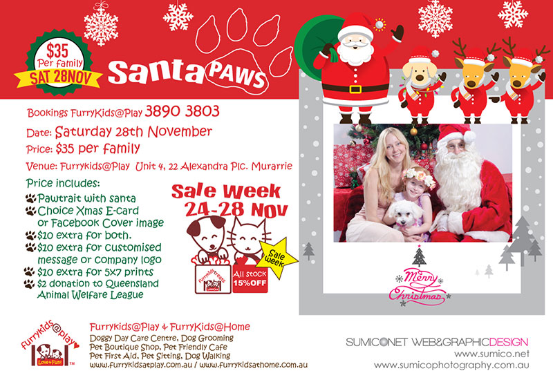 Santa Paws 2015 by FurryKids@Play and Sumico Photography
