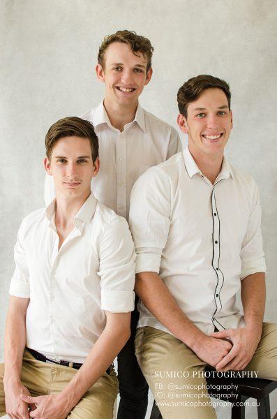 Brothers Portrait Brisbane