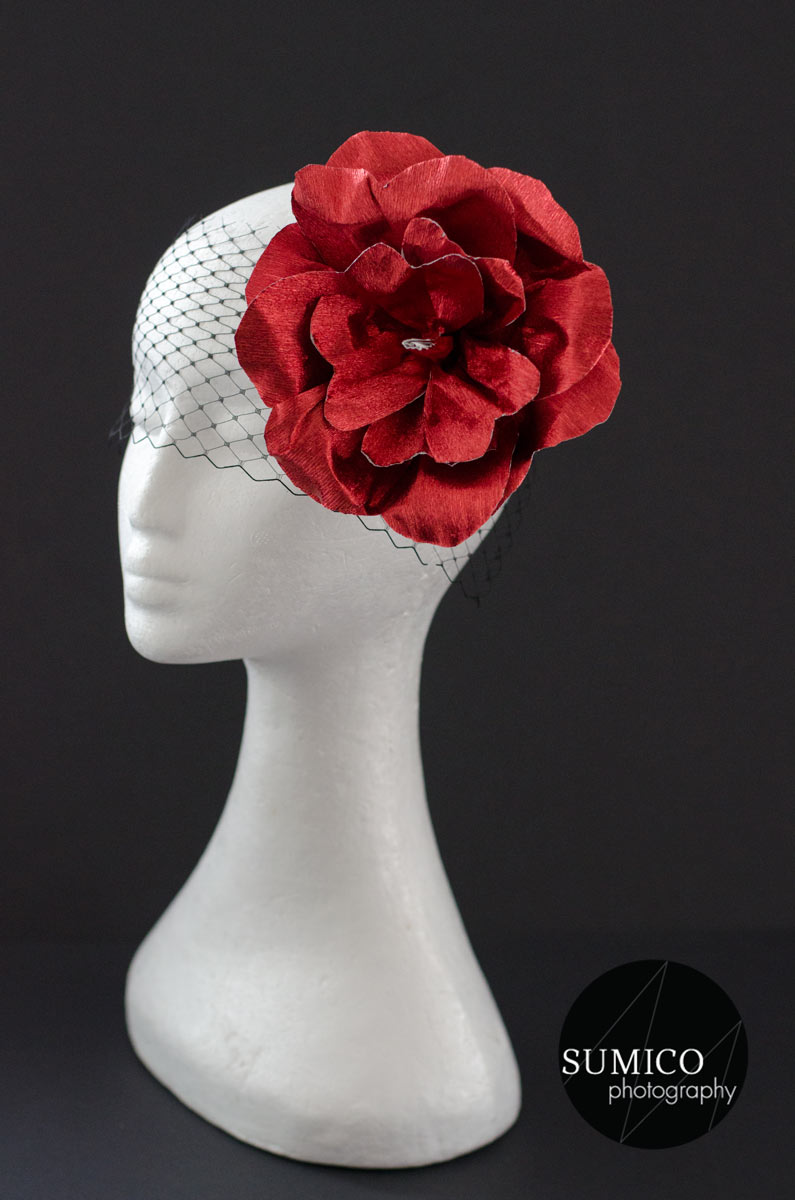 Red Headpiece