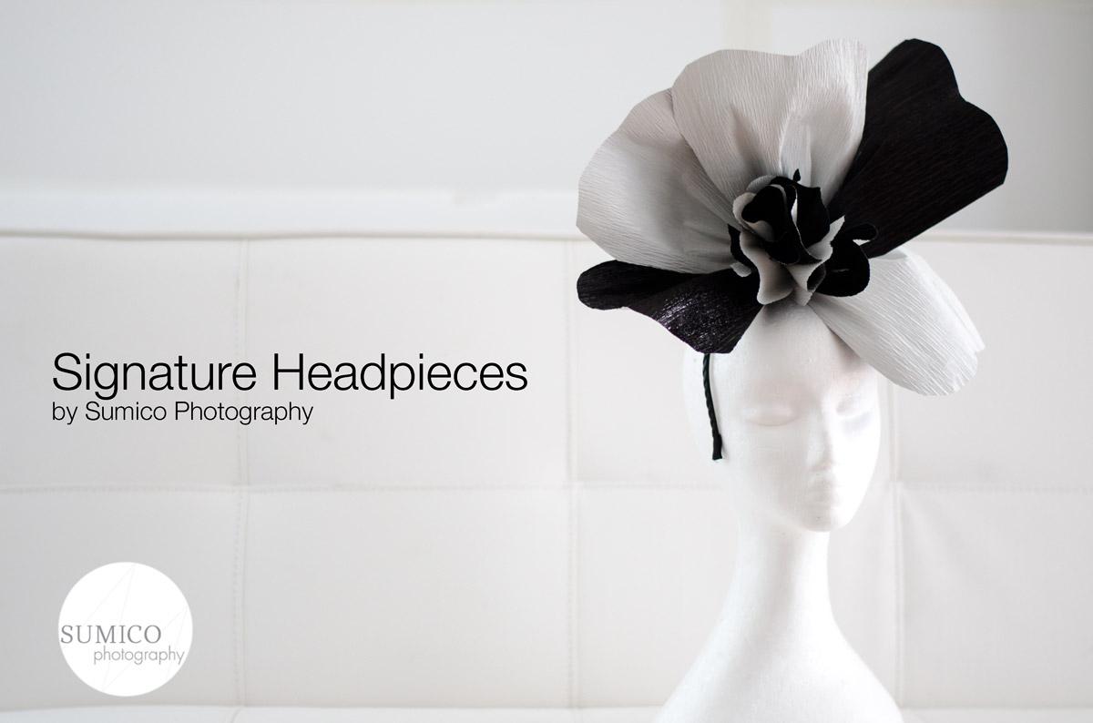 Handmade Headpiece by Sumico Photography