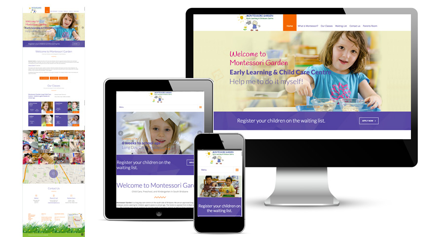 Montessori Garden Website
