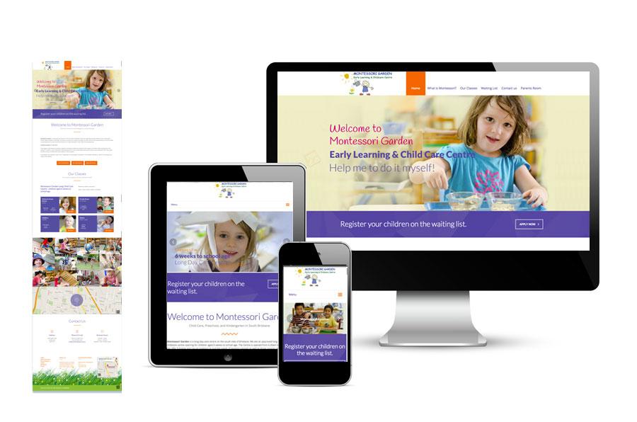 Montessori Garden Website