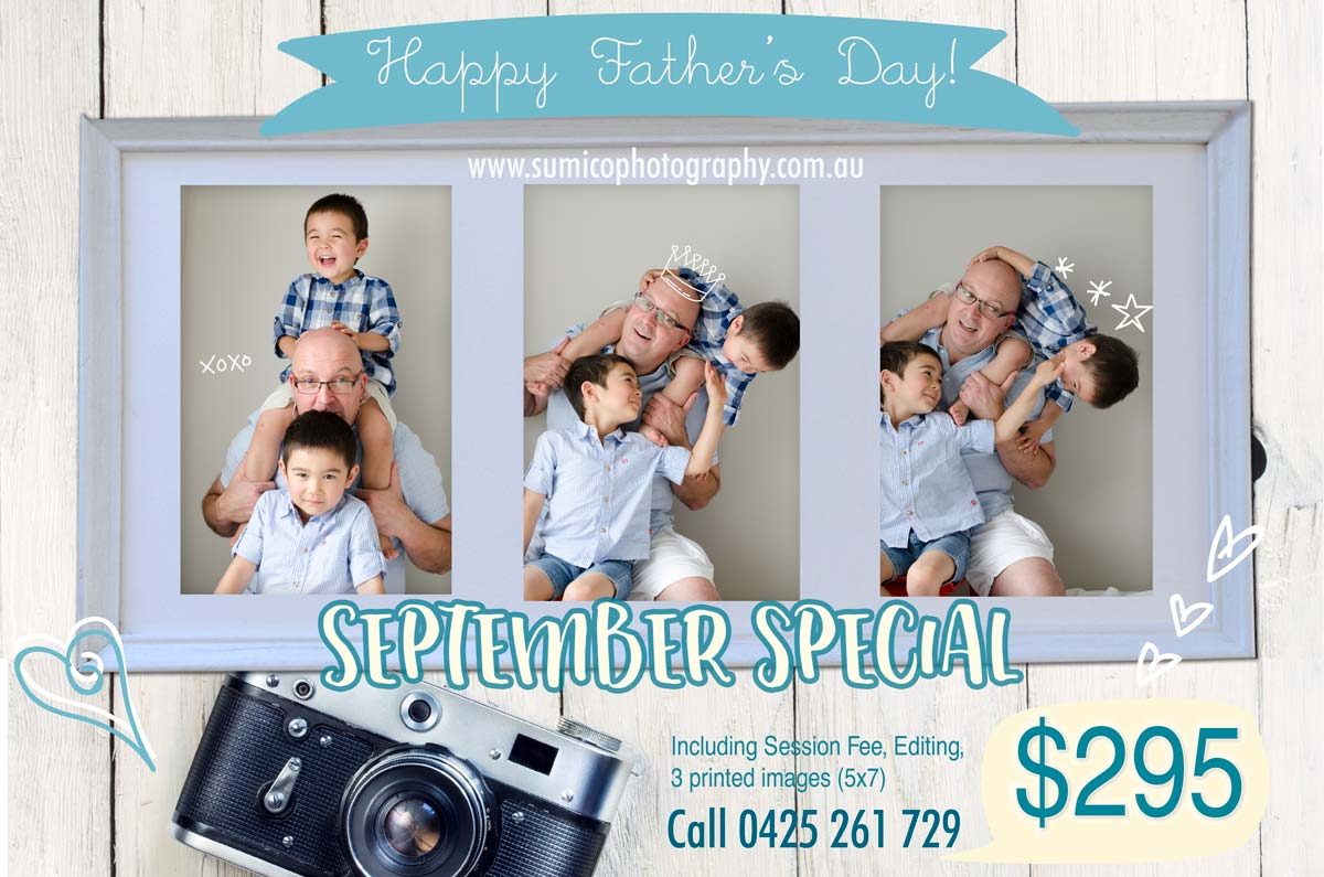 September, Father's Day Special