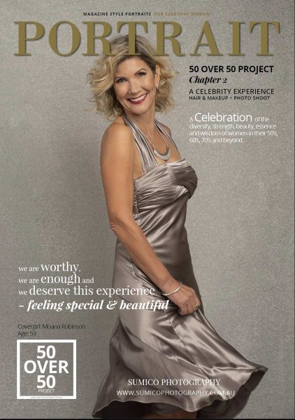 50 over 50 project Portrait Magazine Cover
