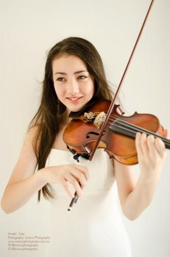 Violinist Portrait Brisbane