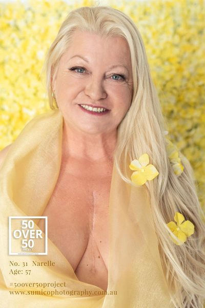 Narelle, 50 over 50 project by Sumico Photography