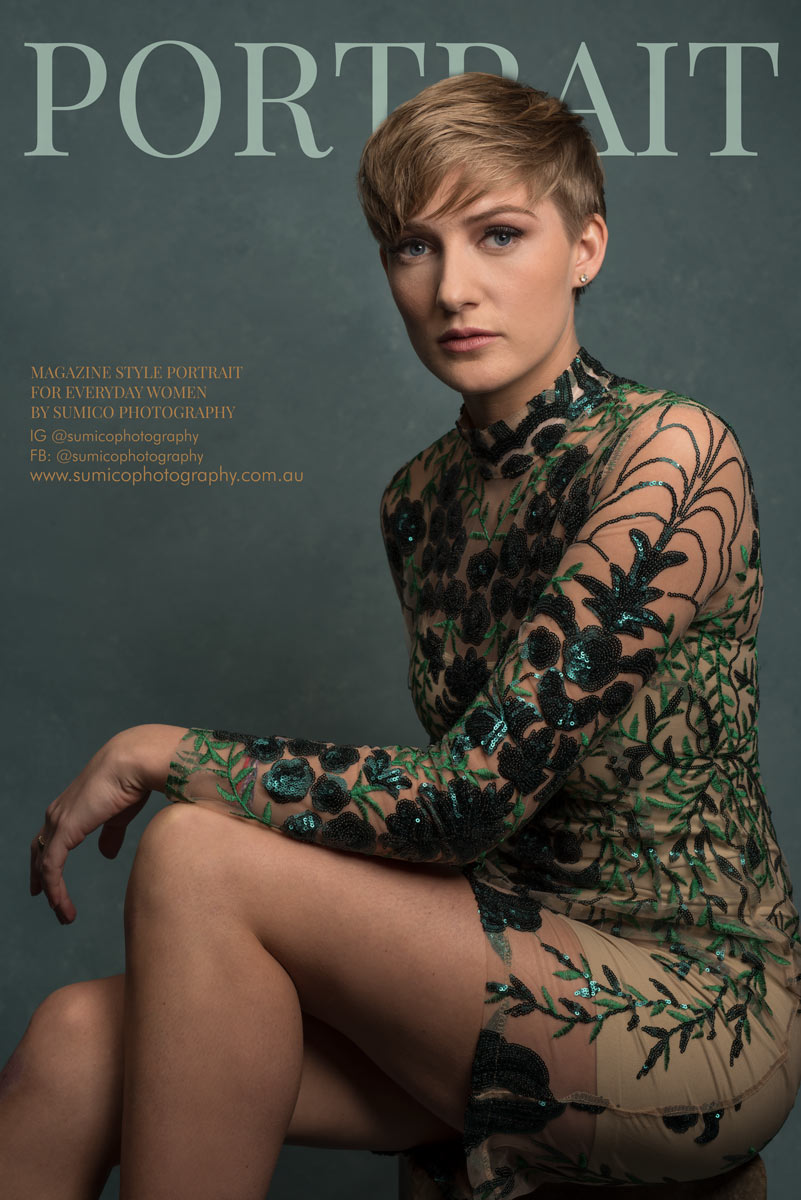 Magazine Style Portrait