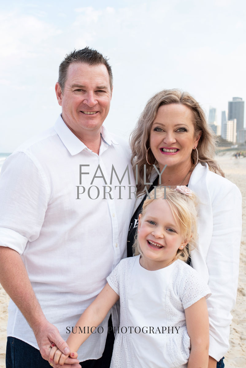 Magazine Style Family Portrait by Sumico Photography Gold Coast