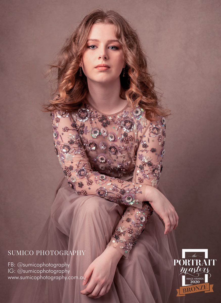 Sumico Photography Bronze Award in Teen Portrait at the Portrait Masters
