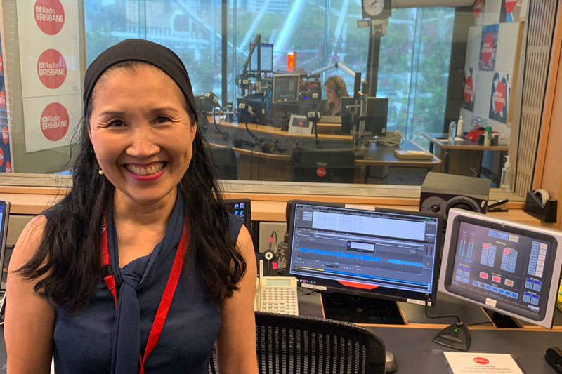 Interview by Kathleen Feeney, Afternoon, ABC Radio