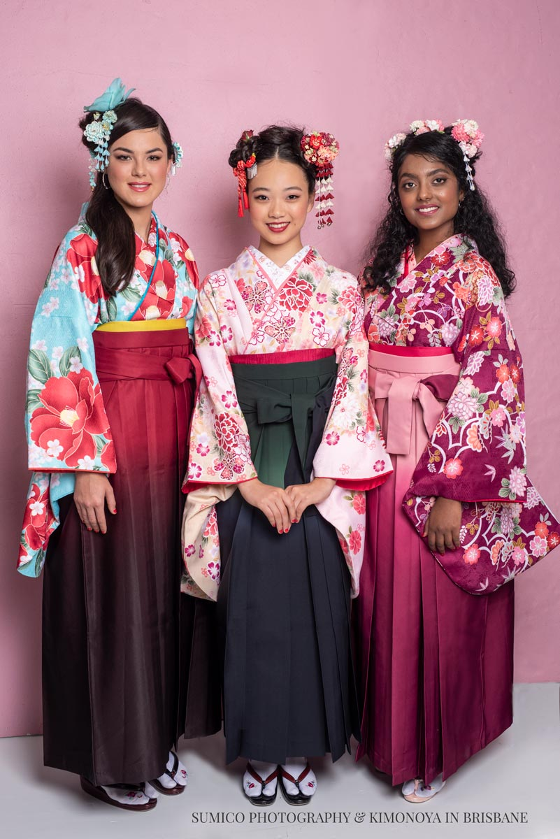 Kimono de Gold Coast Photo Shoot - Hakama Style