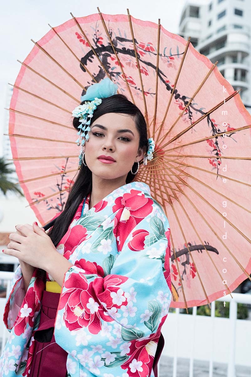 Kimono de Gold Coast Photo Shoot