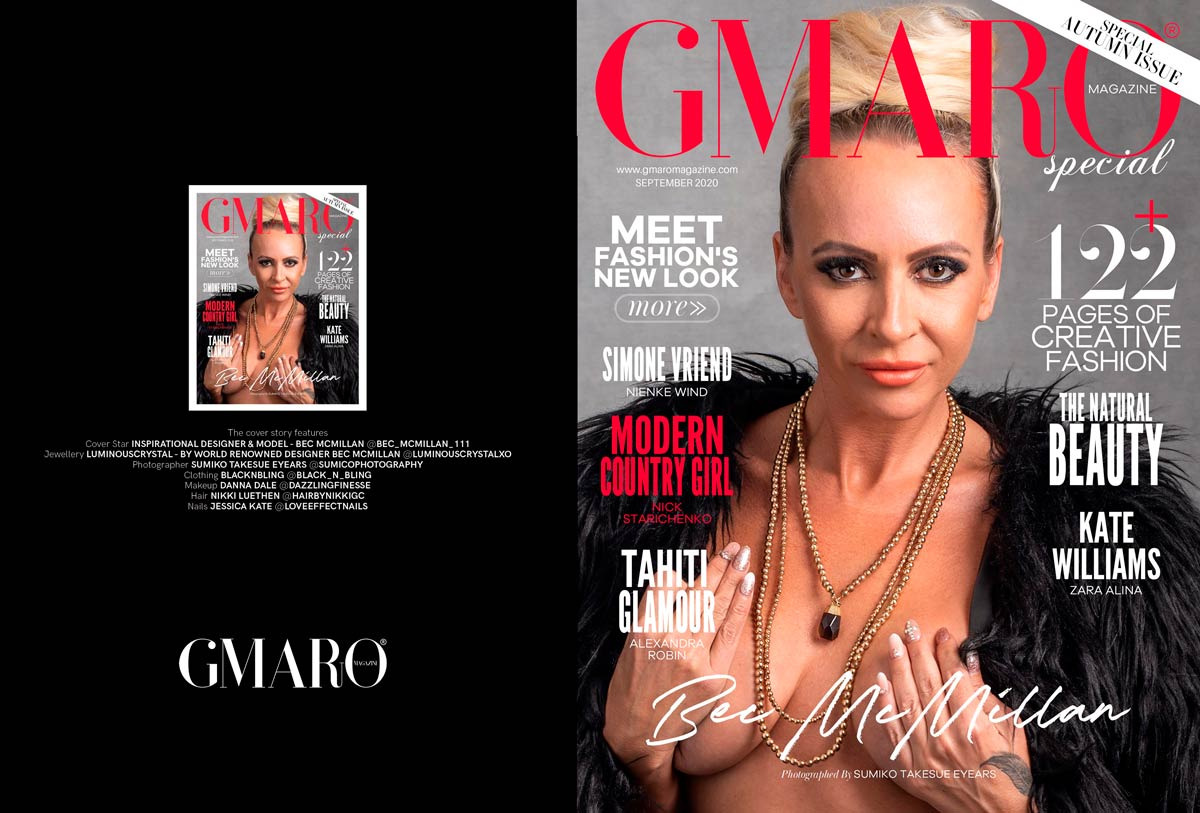 Sumico Photography GMARO Fashion Magazine Cover Photo