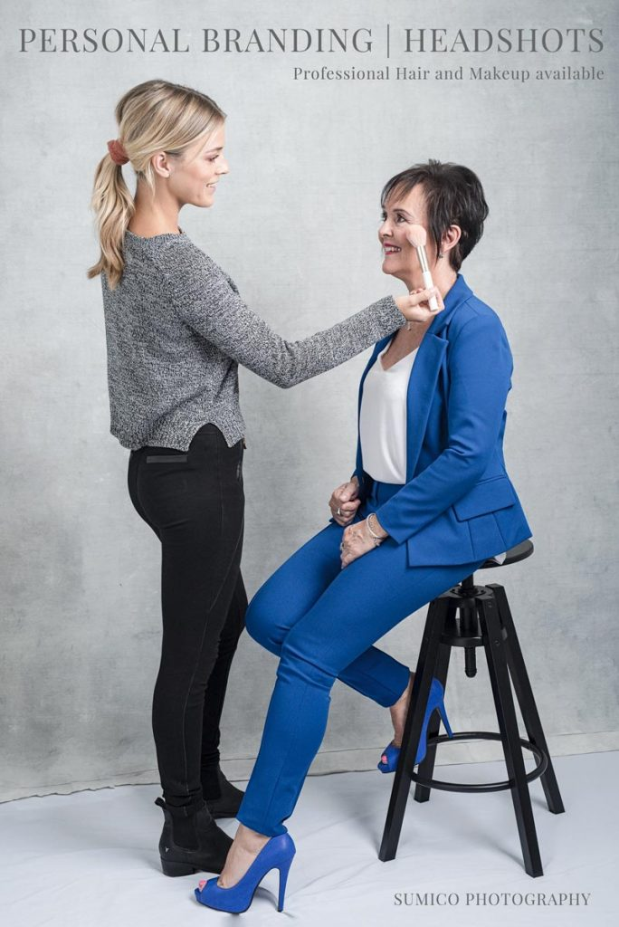 Professional Hair and Makeup available for Personal Branding and Headshots