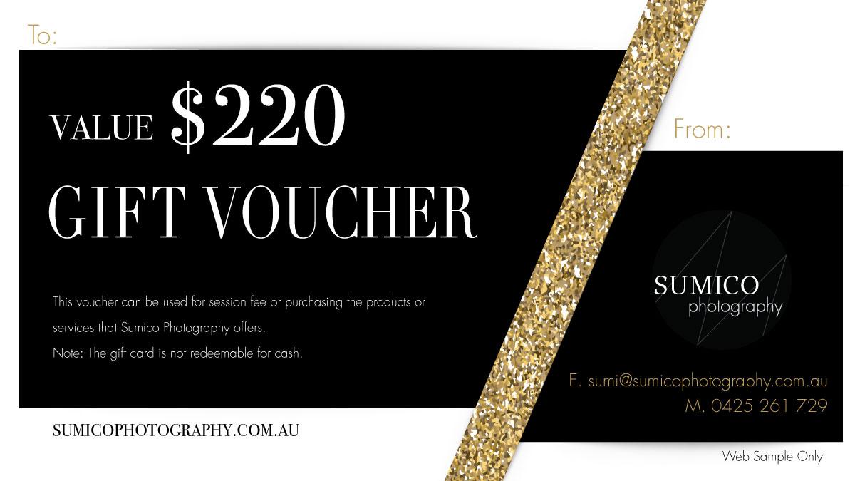 Gift Voucher $220